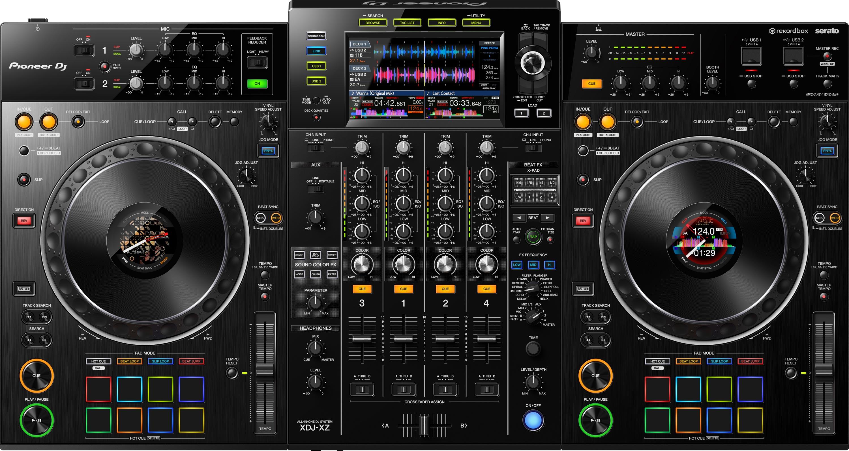Der XDJ-XZ von Pioneer DJ von oben.