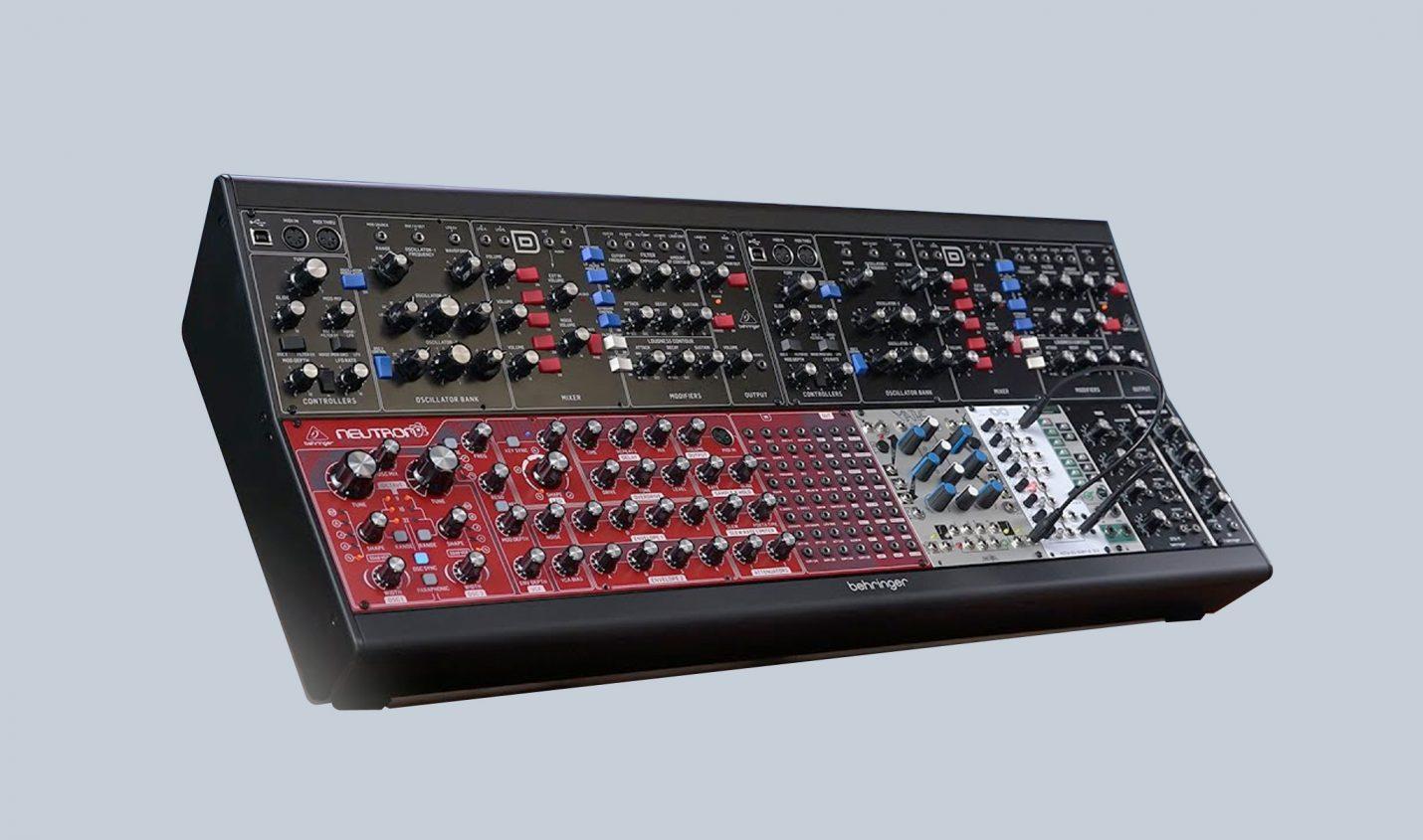 Behringer steigt in die Modular-Welt ein: Eurorack Go Case und erste Module - DJ LAB