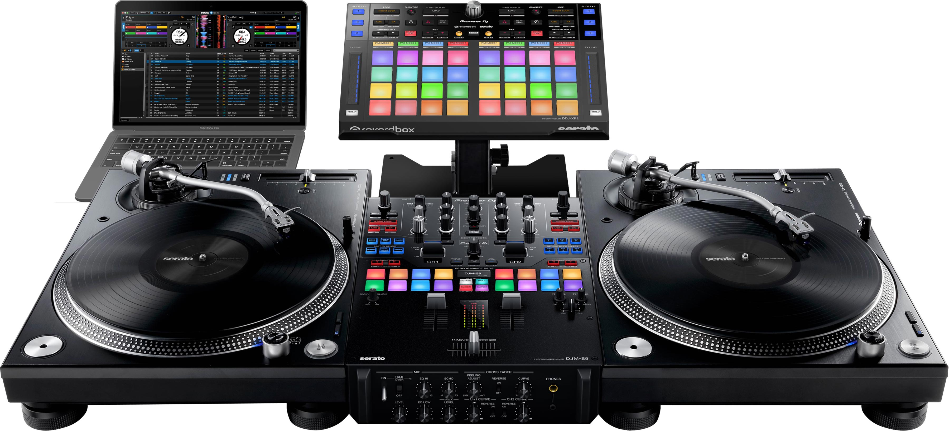 Pioneer DJ DDJ-XP2 Verwendung.