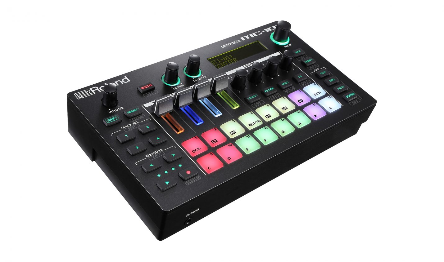 Test: Roland MC-101 / Groovebox
