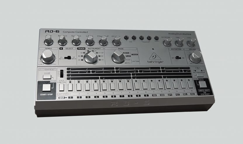 Behringer RD-6: Klon der Roland TR-606 und Begleiter für TD-3