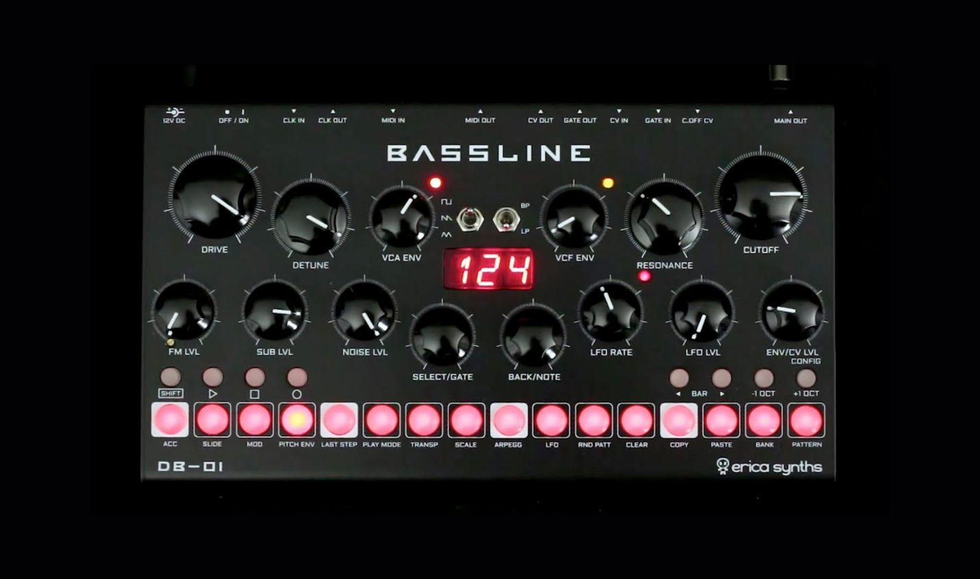 Erica Synths Bassline DB-01 – Die etwas andere 303 - DJ LAB