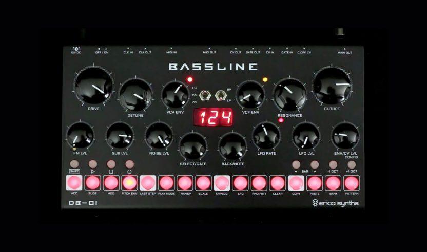 Erica Synths Bassline DB-01 – Die etwas andere 303