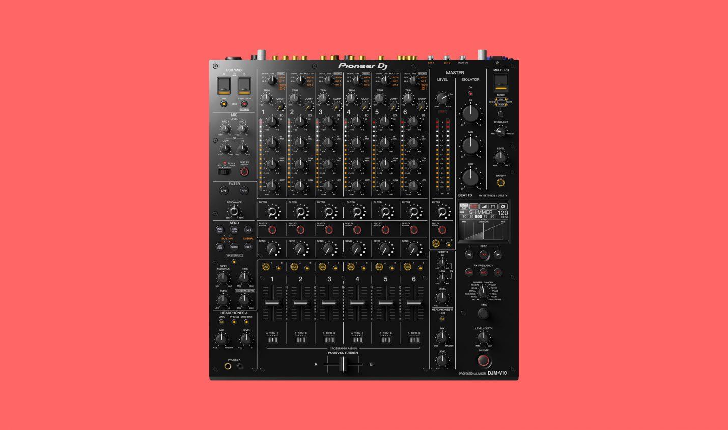 NAMM 2020: Pioneer DJ bringt Flaggschiff DJM-V10 heraus
