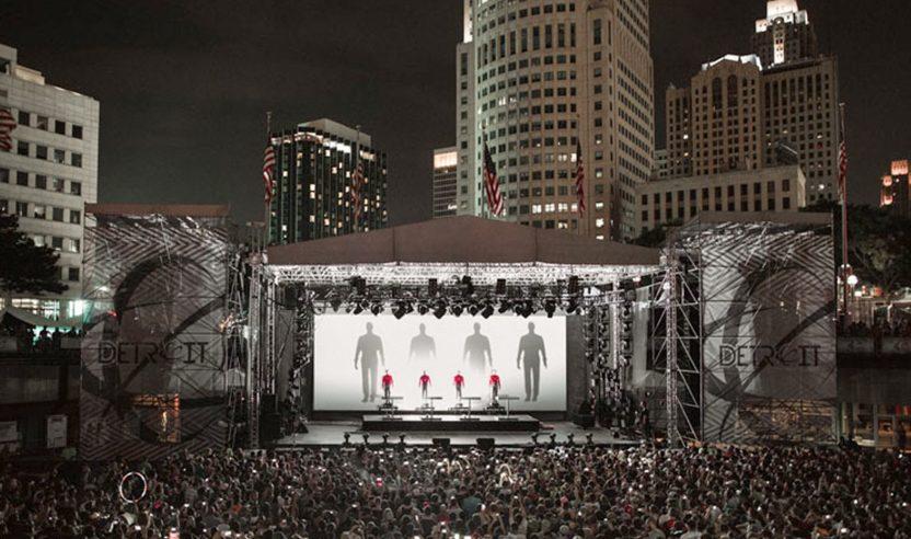 Kraftwerk feiert 50-jähriges Bestehen mit großer Tour