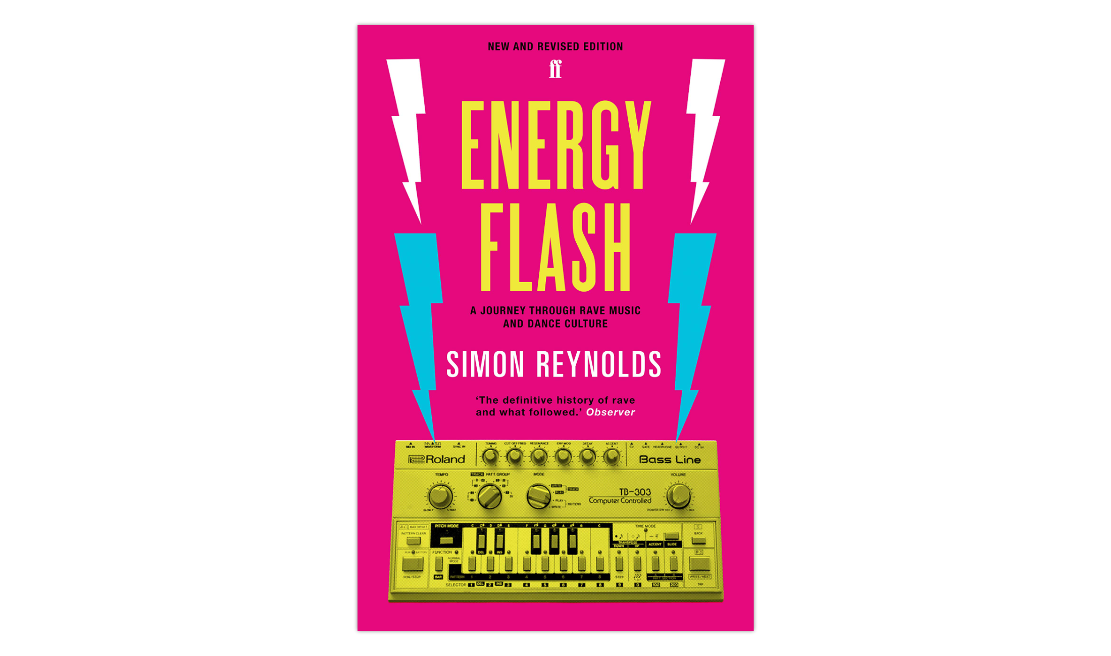 Energy Flash: A Journey Through Rave Music and Dance Culture (1998) von Simon Reynolds.