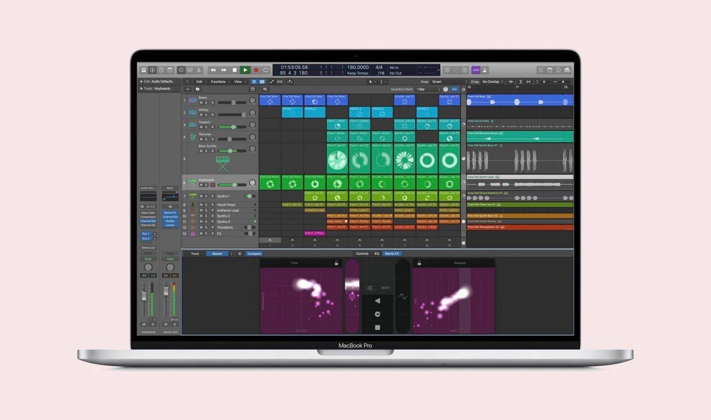 Leak: Logic bald mit Session-View im Stile von Ableton?