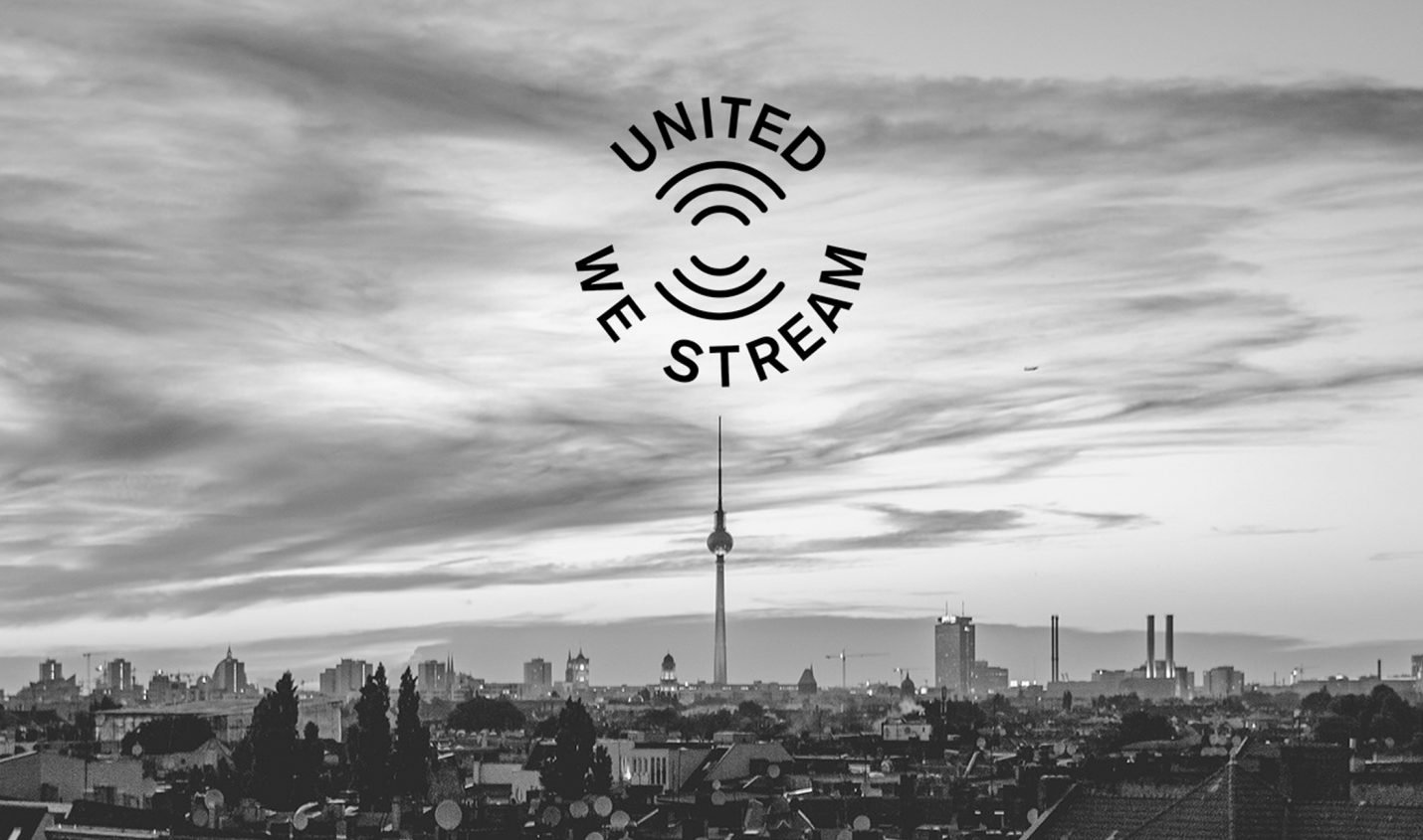 #UnitedWeStream: Virtueller digitaler Club und Spendenaktion