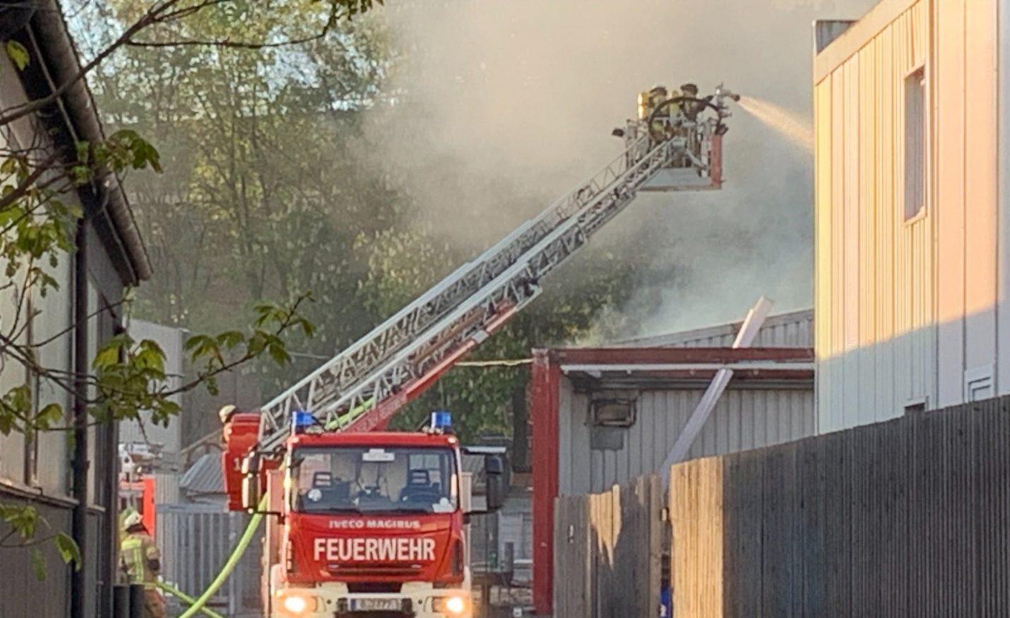 IPSE: Großer Brand zerstört Teile des Clubs in Berlin-Kreuzberg