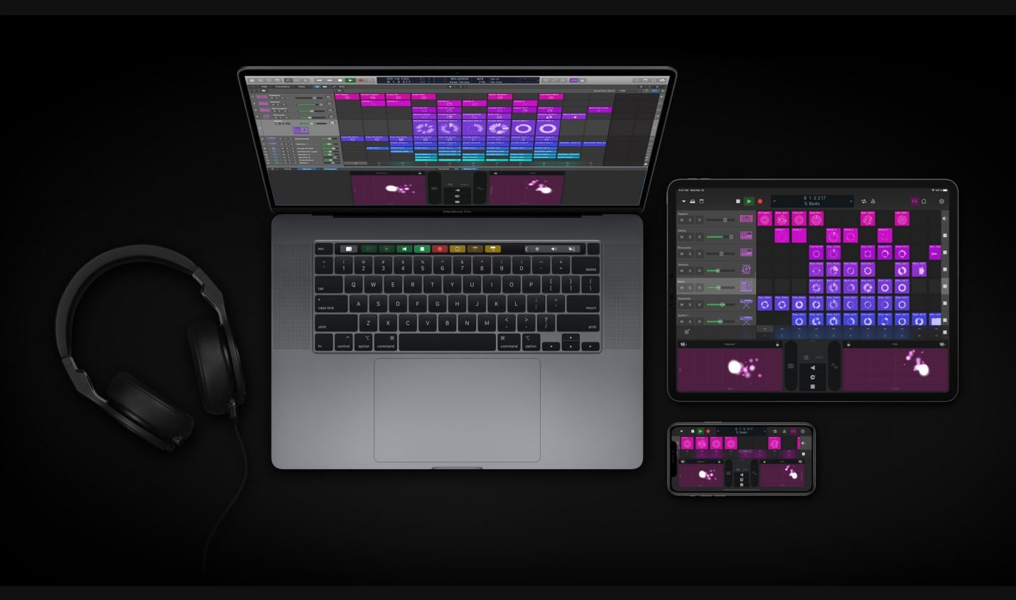 Apple Logic Pro X 10.5 führt Live Loops, Step Sequencer und Sampler ein