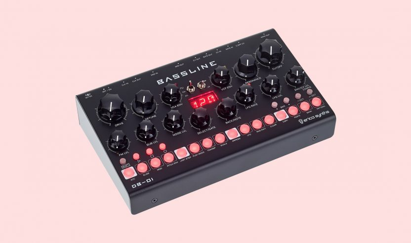 Test: Erica Synths DB-01 Bassline