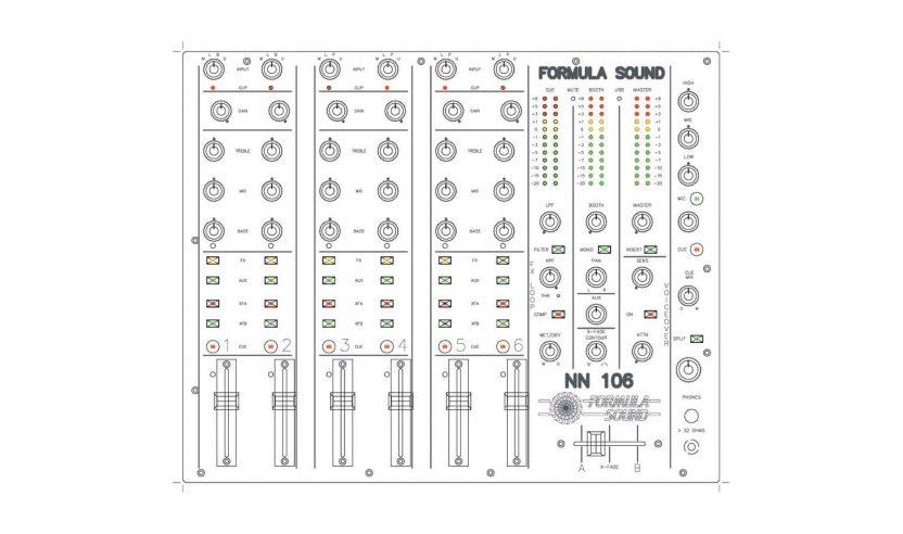 Neu: Formula Sound stellt Flagship-Mixer NN106 vor