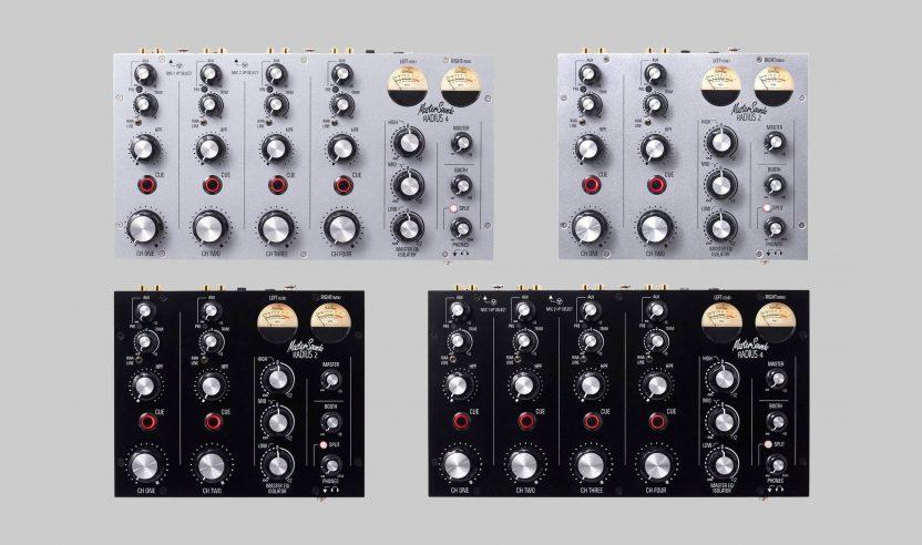 MasterSounds: Neuauflage der Radius 2 und 4 Rotary Mixer