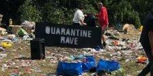 Schwere Zwischenfälle auf zwei illegalen Raves bei Manchester