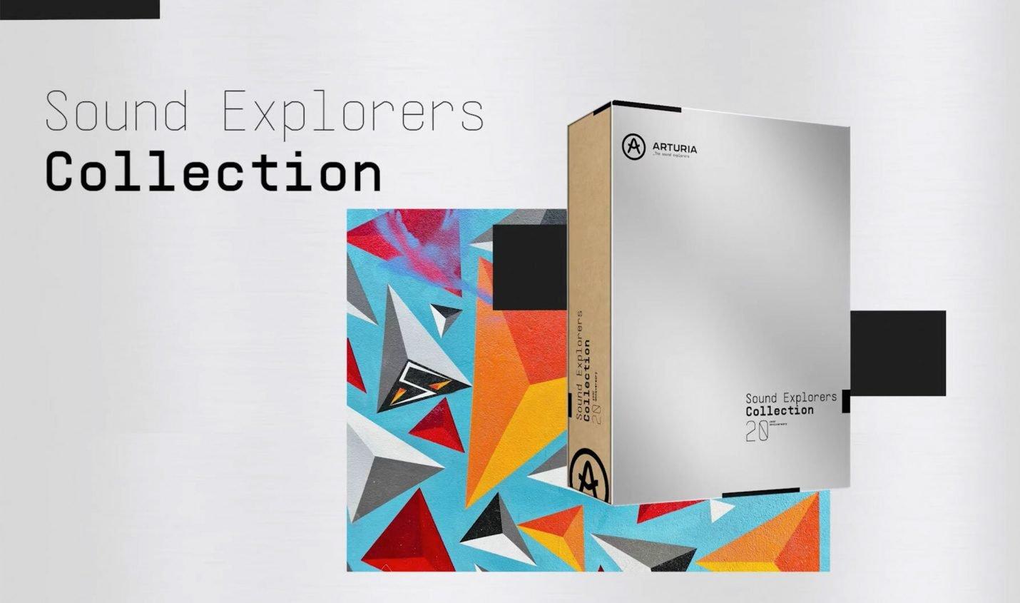 Arturia veröffentlicht Sound Explorers Collection zum 20-Jährigen Jubiläum