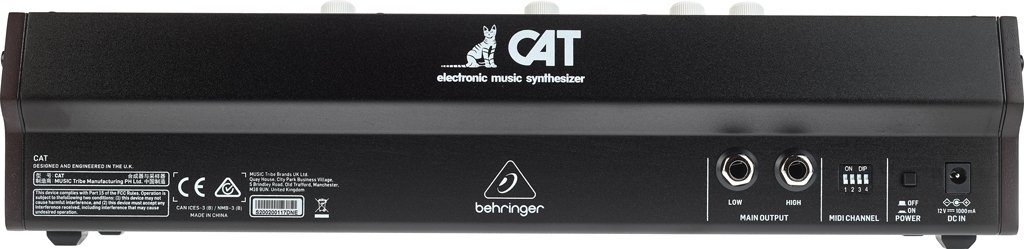 Behringer CAT Frontalansicht.