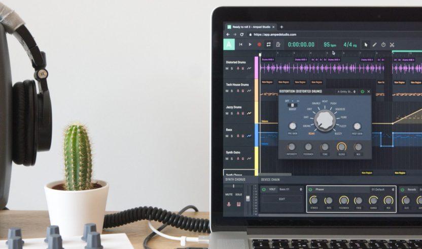 Amped Studio: Online-DAW jetzt mit VST-Support