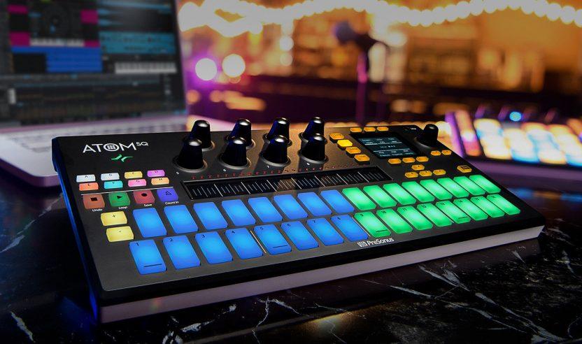 PreSonus stellt neuen Pad-Controller Atom SQ vor