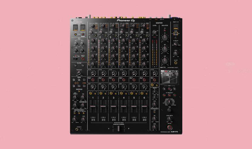 Pioneer DJ DJM-V10 jetzt Serato DJ Pro zertifiziert