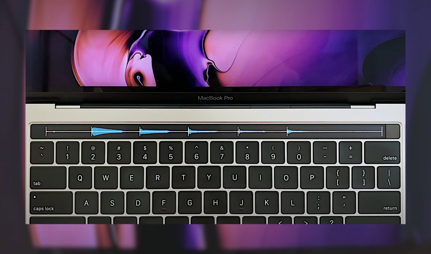 Samplr for Touchbar: MacBook Touch Bar wird durch App zum Sampler