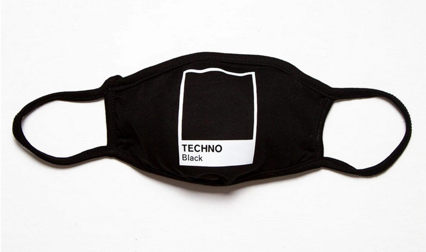 Neu: Corona-Masken mit von Techno und Rave inspirierten Motiven