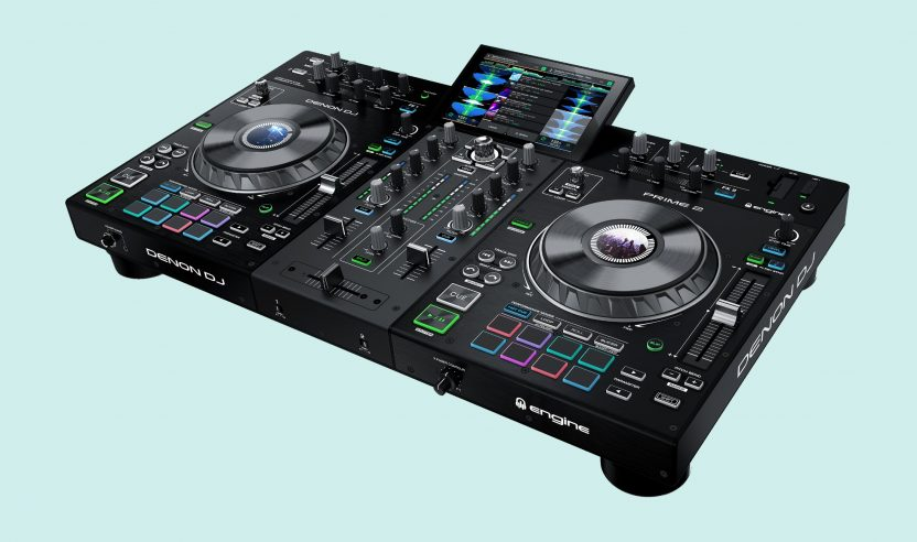 Test: Denon DJ Prime 2 / DJ-Workstation