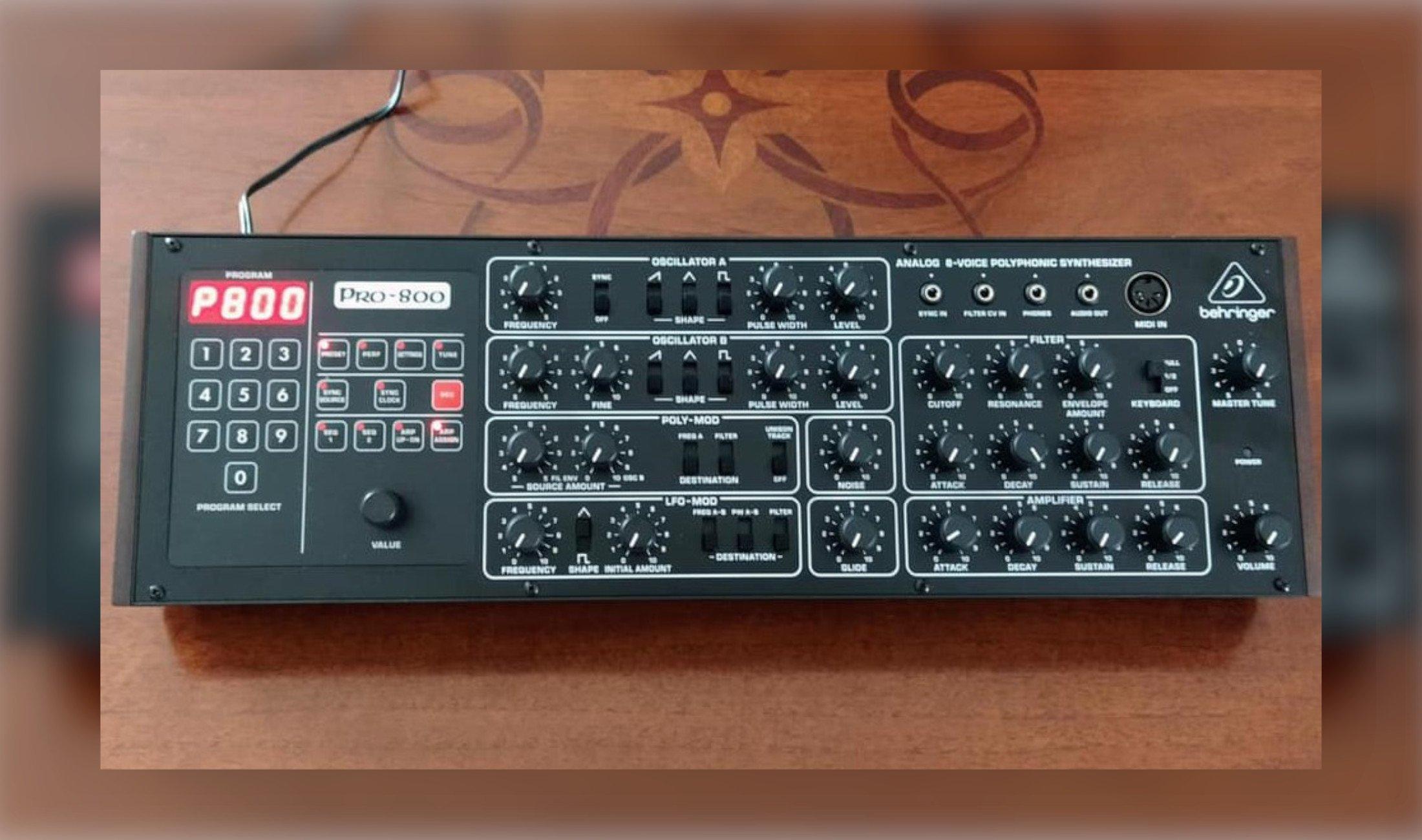 Behringer Pro-800: Klon des Prophet-600 vorgestellt - DJ LAB