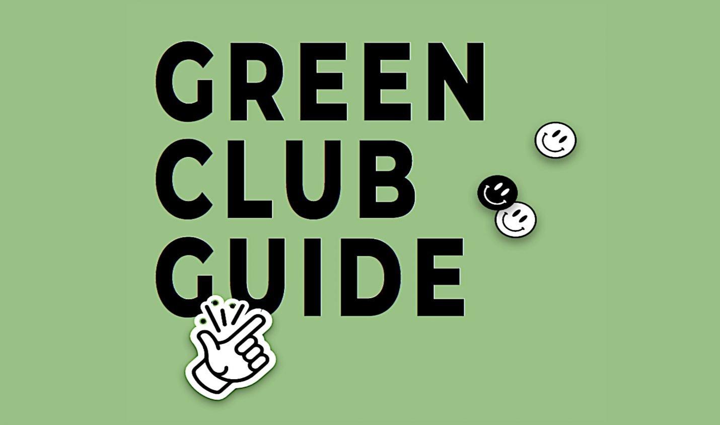 Green Club Guide: Online-Leitfaden für eine nachhaltigere Clubszene