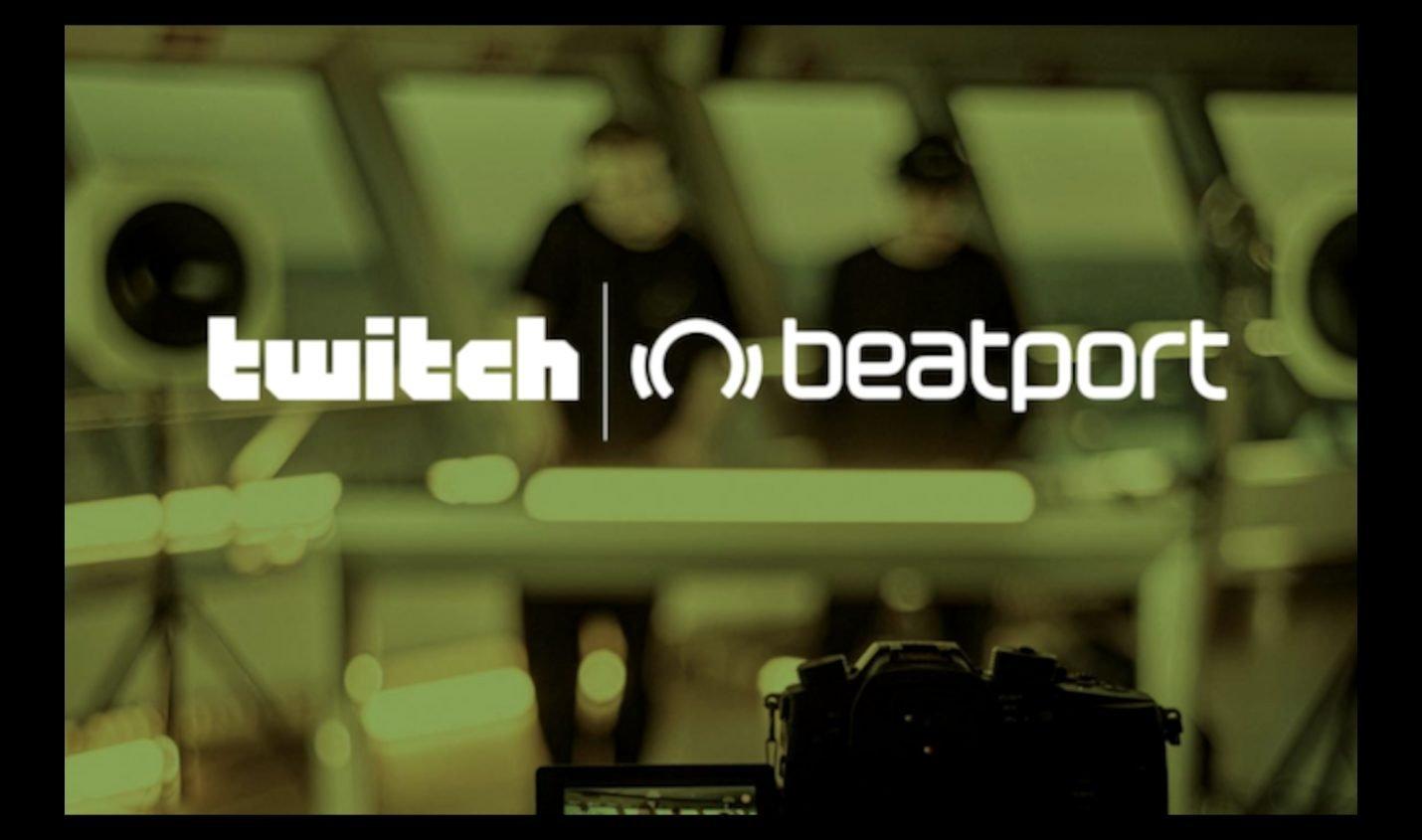 Beatport hostet monatliche DJ Livestreams auf Twitch