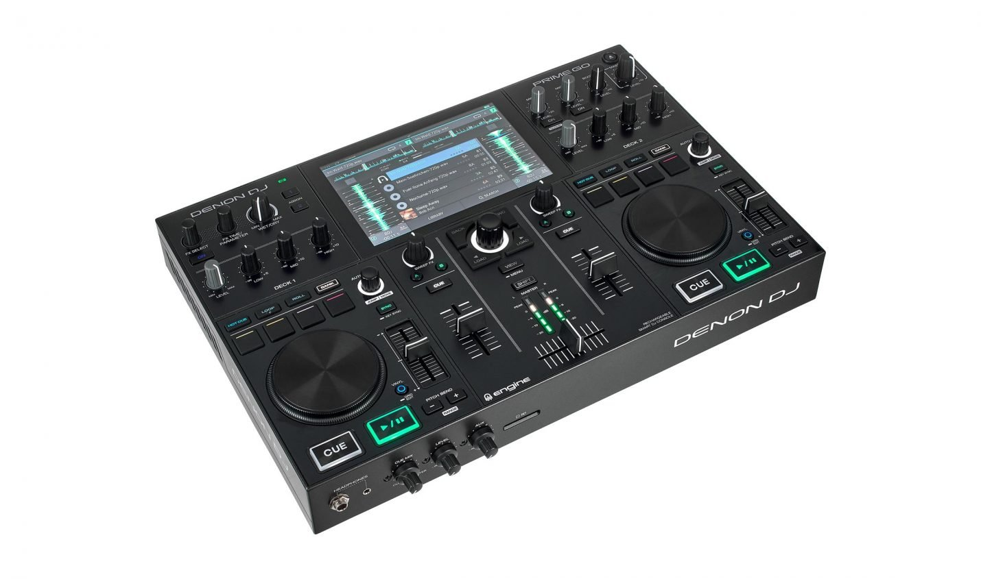 Test: Denon DJ Prime Go / Akkubetriebene DJ-Workstation