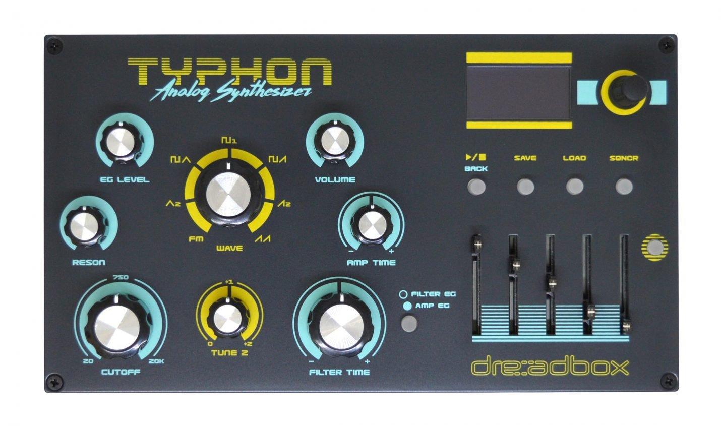 Test: Dreadbox Typhon / Analoger Desktop-Synthesizer