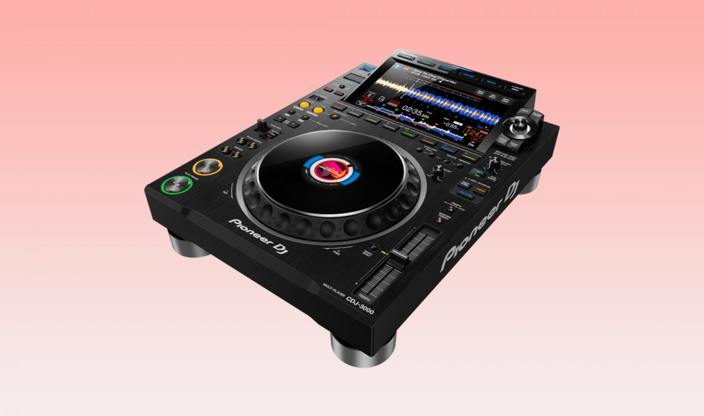 Test: Pioneer DJ CDJ-3000 / DJ-Multimediaplayer