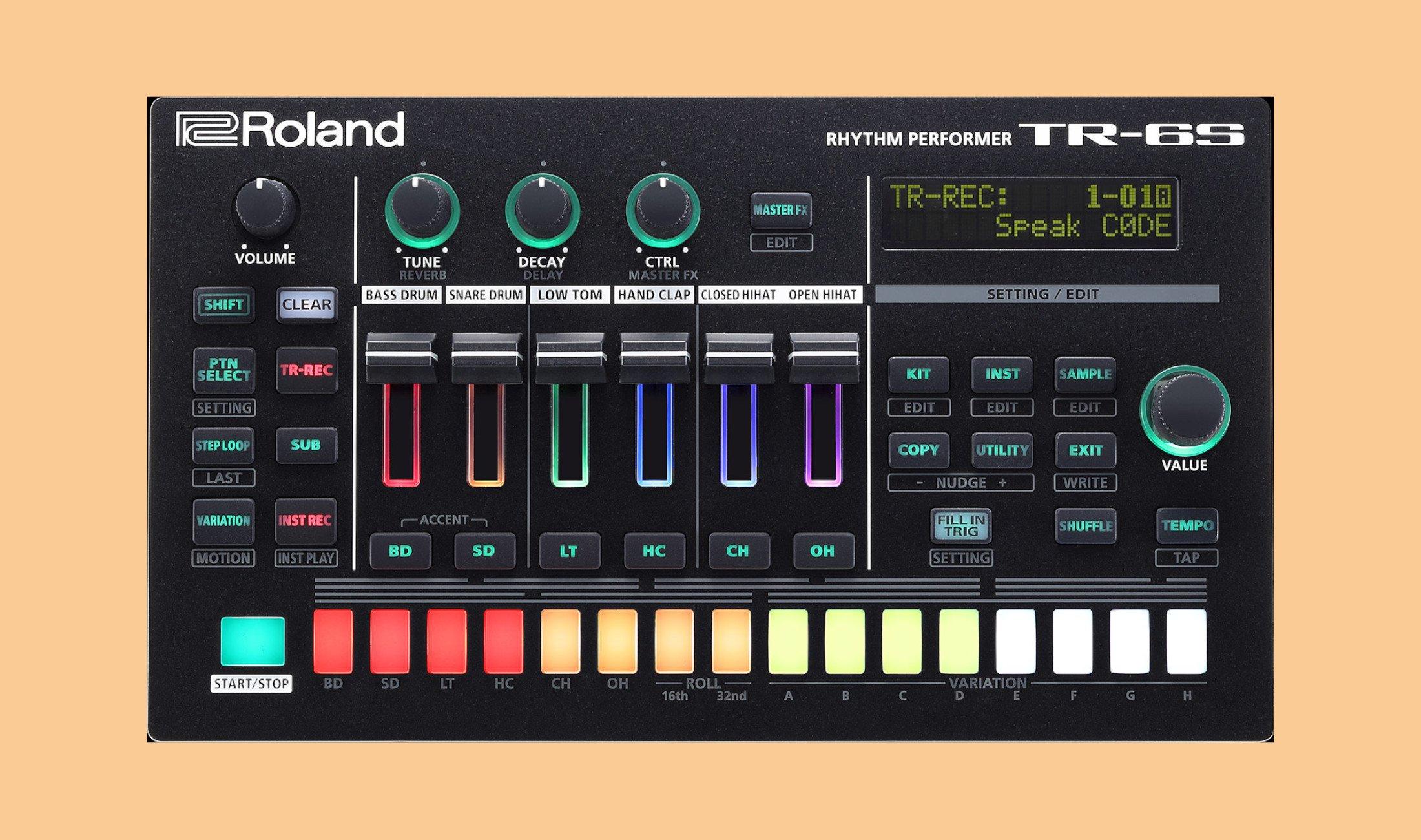 Roland: TR-6S und TR-06 Drummachines vorgestellt - DJ LAB