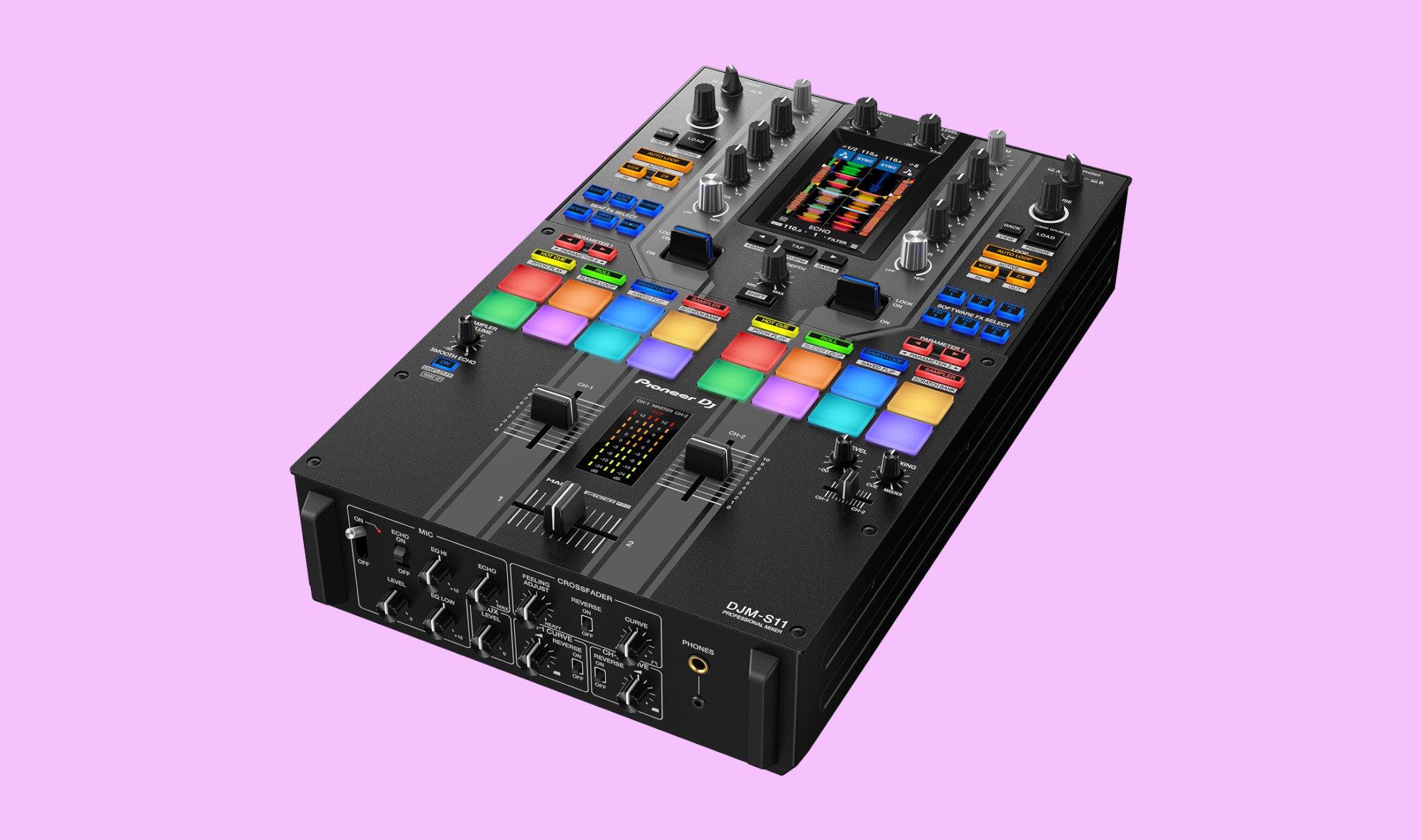 Pioneer DJ: Neuer Battlemixer DJM-S11 vorgestellt - DJ LAB