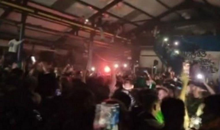 Illegale Halloween-Raves in England vor dem Lockdown