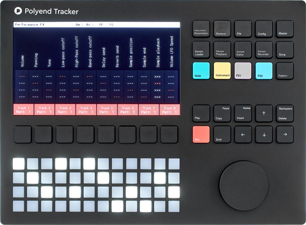 Polyend Tracker im Test.
