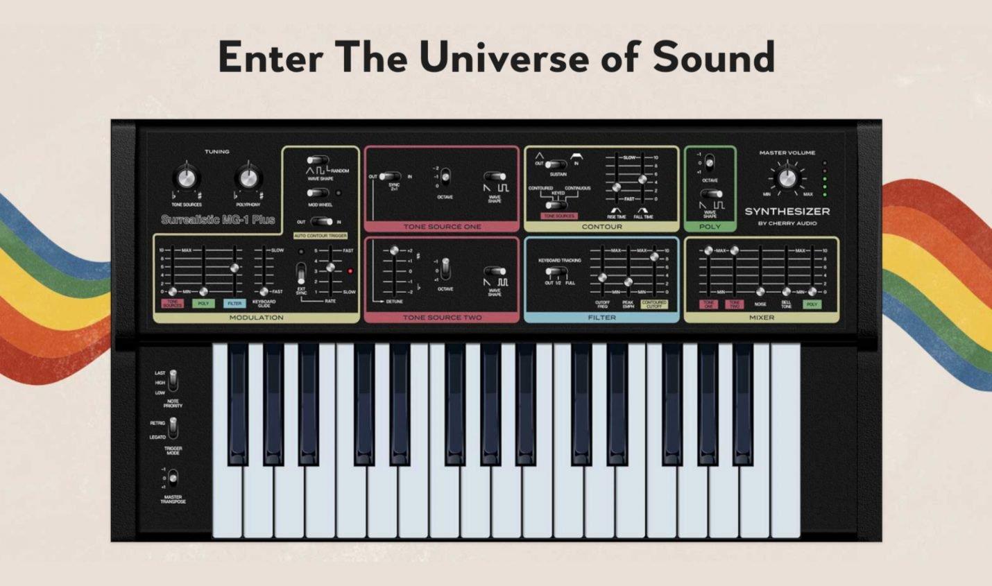 Kostenlos: Software-Version des Moog MG-1 von Cherry Audio