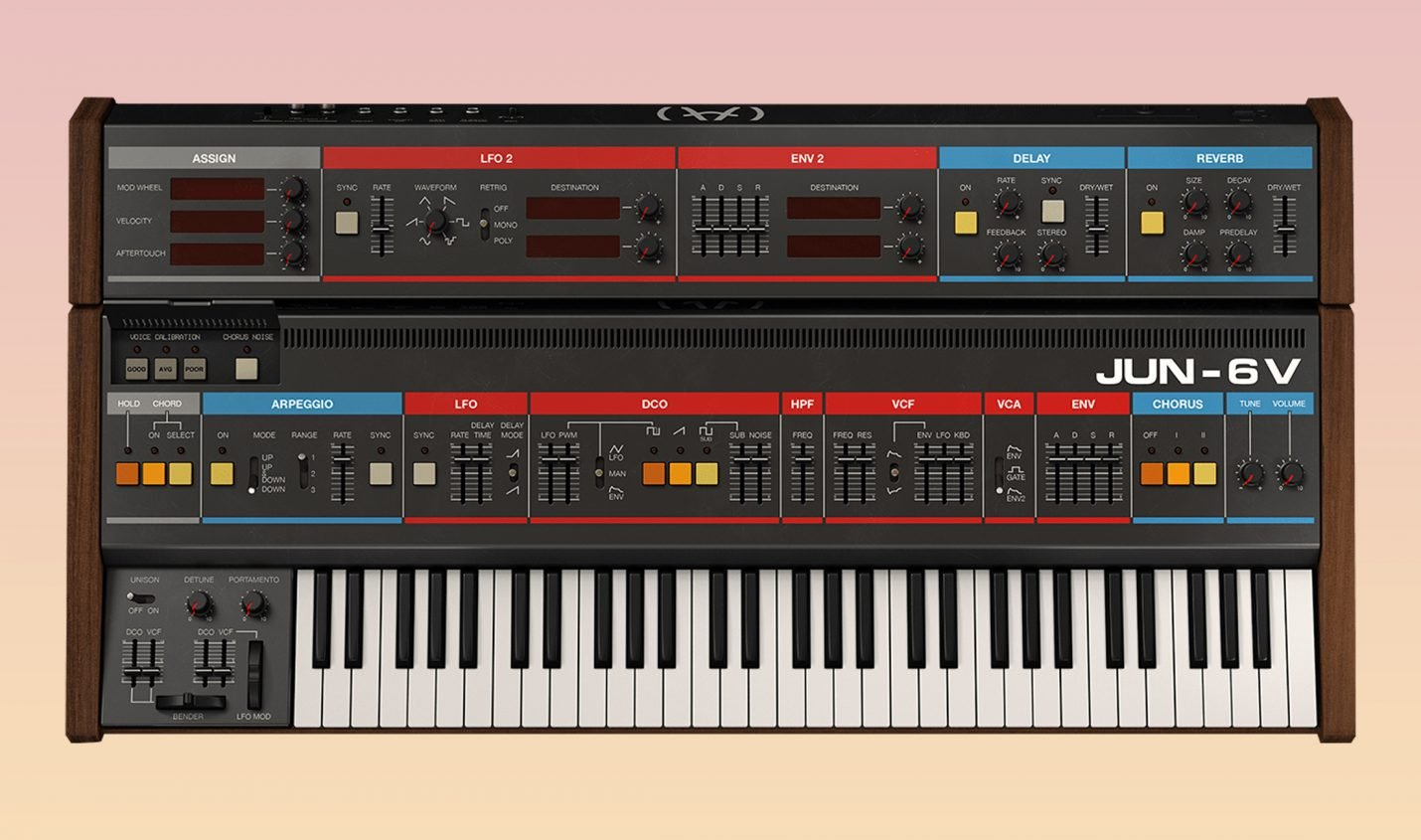 Arturia V-Collection 8 mit vier neuen Synthesizern