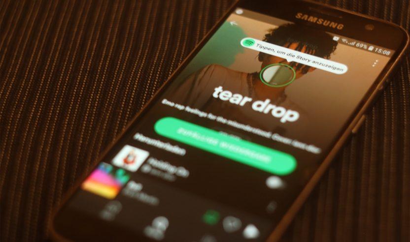 Auf Spotify gibt es jetzt Stories