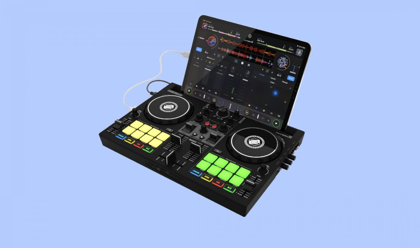 Reloop Buddy: Kompakter 2-Kanal DJ Controller