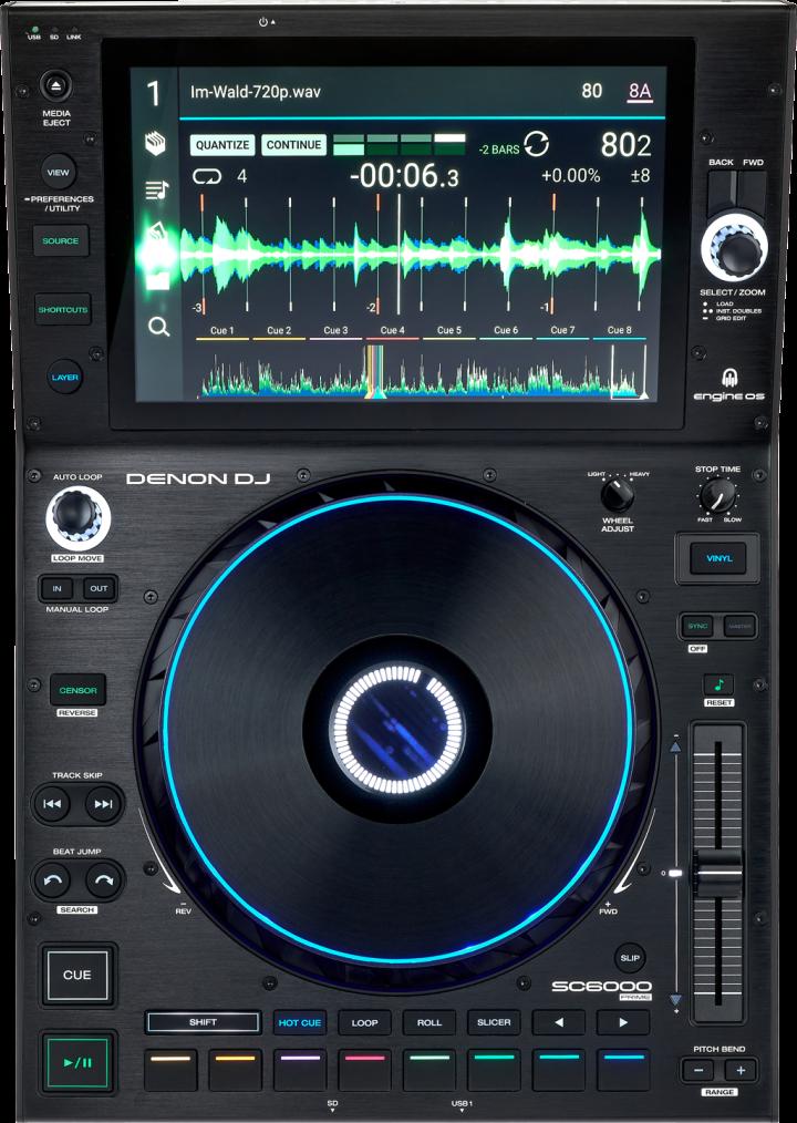 Denon DJ SC6000 Prime.