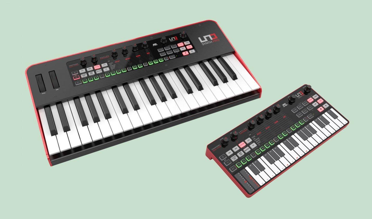 IK Multimedia UNO Synth Pro erscheint in zwei Varianten