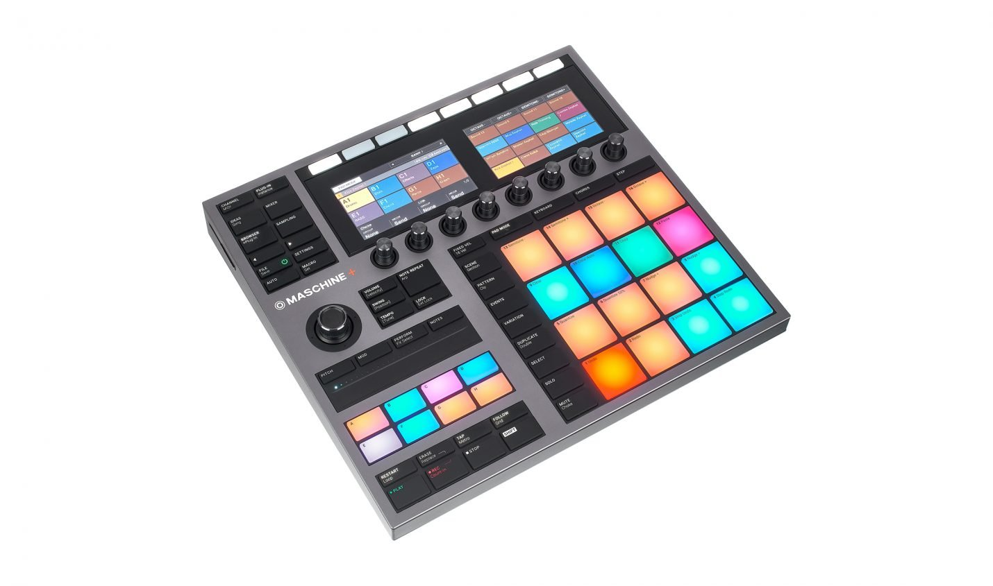 Test: Native Instruments Maschine+ / Standalone-Maschine
