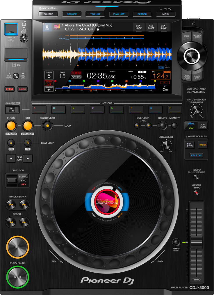 Pioneer DJ CDJ-3000.