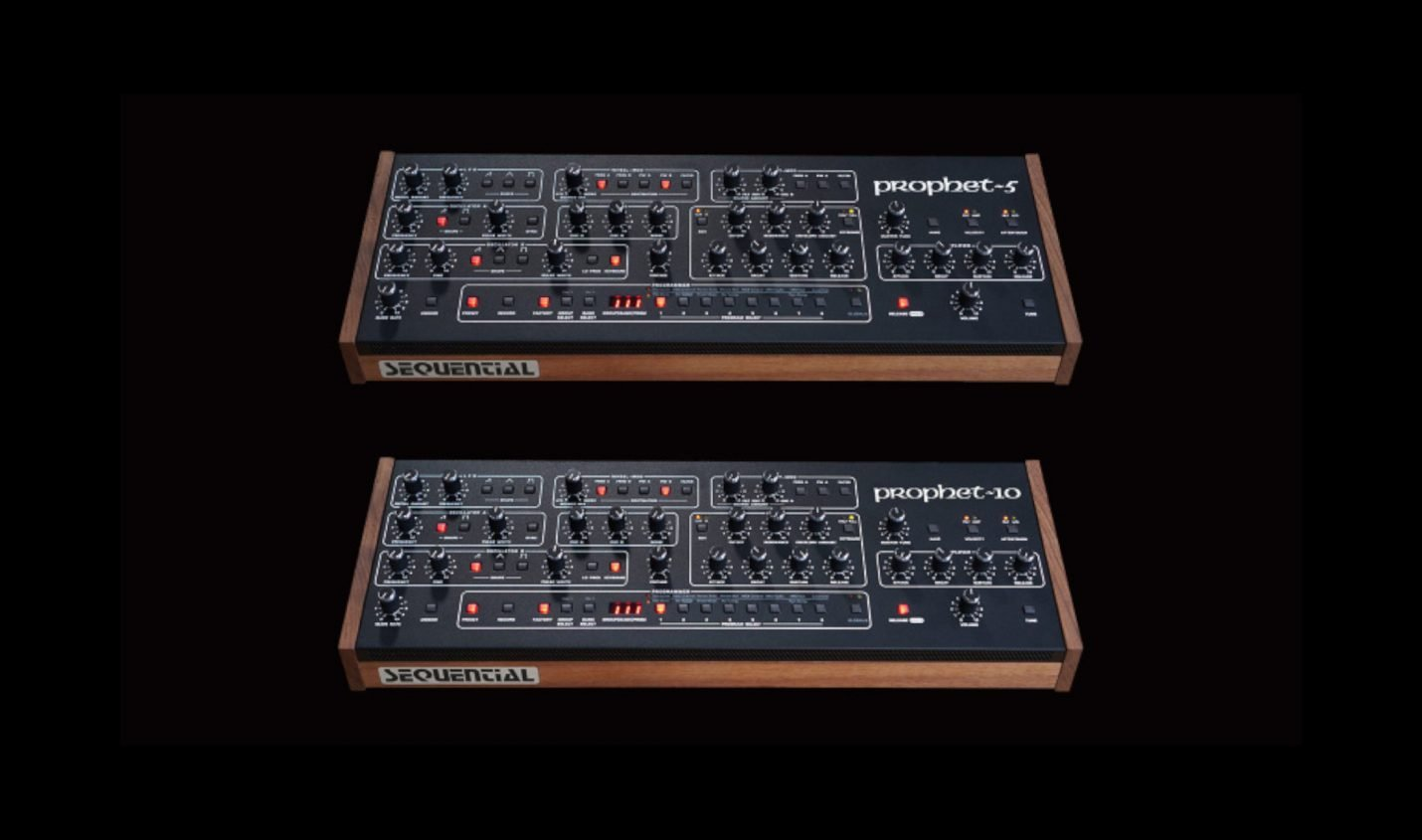 Sequential präsentiert Prophet-5 und Prophet-10 als Desktop-Module