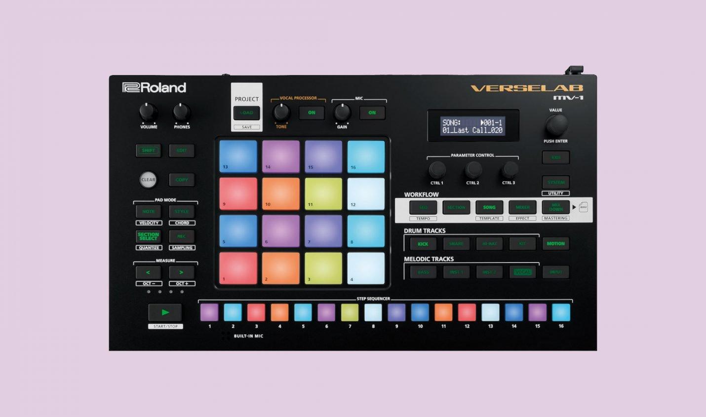 Roland Verselab MV-1: Kompakte All-In-One Groovebox