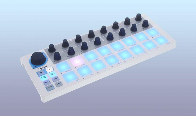 Test: Arturia Beatstep / MIDI-Controller