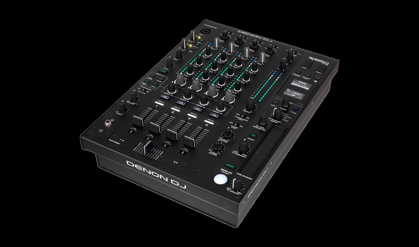 Test: Denon DJ X1850 Prime / Vierkanal-Mixer für DJs