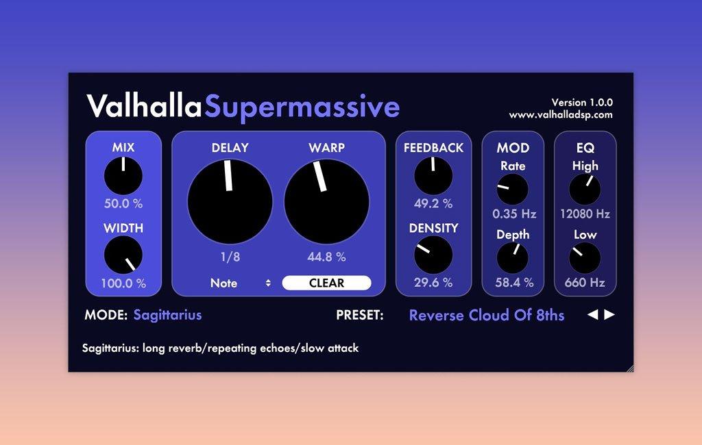 Freeware-Delay Supermassive.