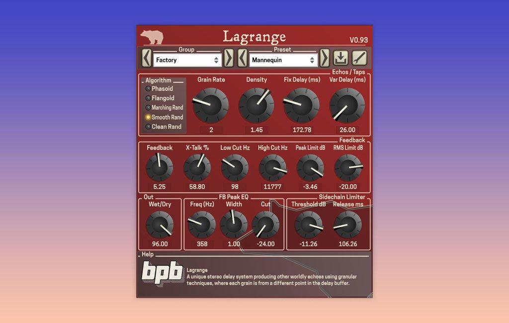 Freeware-Delay Larange